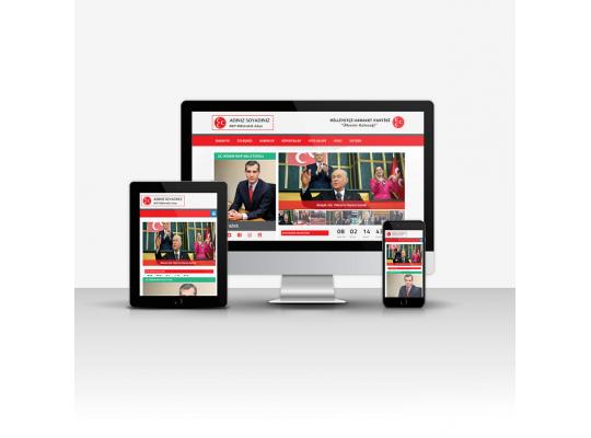 MHP Aday Tanıtım Sitesi