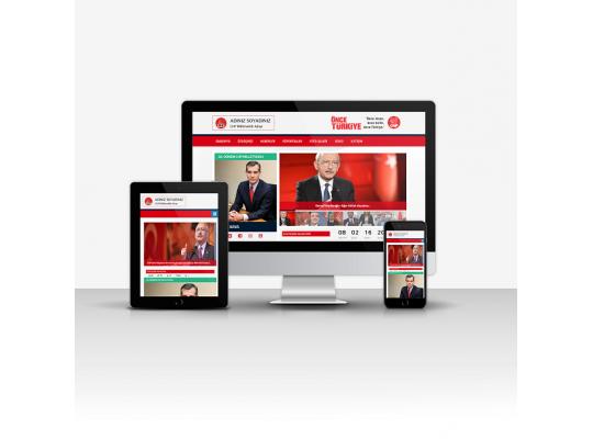 CHP Aday Tanıtım Sitesi