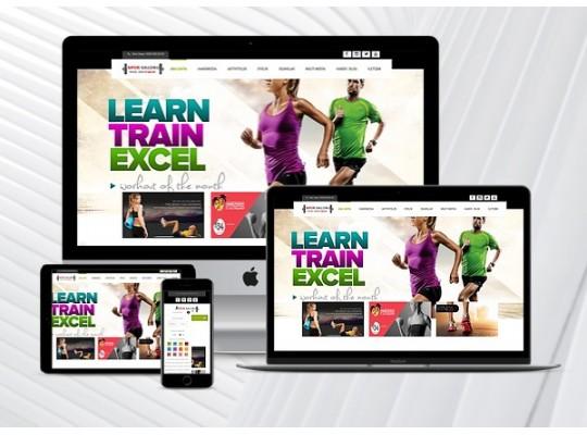 Spor Salonu / Fitness Web Paketi Sporty v2.5