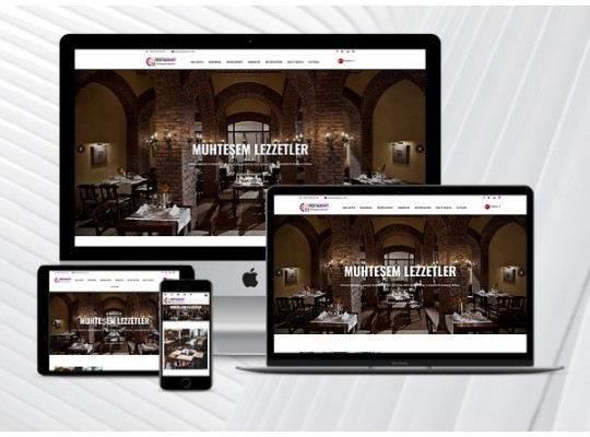 Restaurant Web Paketi Major v3.5 (5 Dilde)